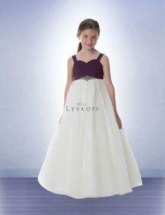 flower girl dress.. pink bodice instead of purple