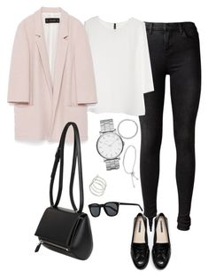 Outfit #363 by valeriatrav on Polyvore featuring polyvore moda style MANGO Zara J Brand Givenchy Marc by Marc Jacobs Smith/Grey Michael Kors BERRICLE Yves Saint Laurent fashion clothing
