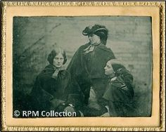 The Bronte Sisters -  - An 1840s Photograph