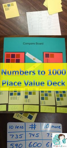 I use this deck of cards over and over in grades 2-4 to help my students understand numbers to 1000 and build a conceptual understanding of comparing and ordering numbers as well as multi digit addition and subtraction.