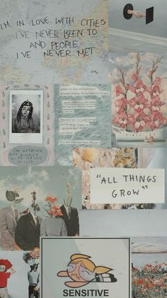 """Edition: """"All things grow"""" Feel free to reproduce pins from all boards. More of such good stuff coming in ✨ Tumblr Backgrounds, Tumblr Wallpaper, Screen Wallpaper, Wallpaper S, Wallpaper Quotes, Wallpaper Backgrounds, Baby Blue Wallpaper, Blue Background Wallpapers, Disney Wallpaper"""