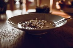 Thai soup with sprouted mung beans