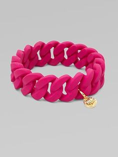 Rubber Wrapped Bracelet, Marc by Marc Jacobs #Bracelet #Marc_Jacobs