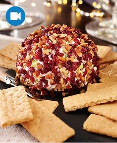 Holiday Cranberry-Pecan Cheese Ball http://wm13.walmart.com/Cook/Recipes/33623