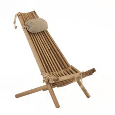 The EcoFurn chair is a natural wood and rope folding chair. Available in several types of wood it has two seating positions and is a very sustainable option Pine Chairs, Outdoor Chairs, Outdoor Decor, Eco Furniture, Outdoor Furniture, Restaurant Am Wasser, Muebles Living, Vintage Stool, Floor Seating