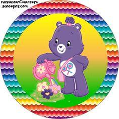 Ursinhos Carinhosos - Kit Completo com molduras para convites, rótulos para guloseimas, lembrancinhas e imagens!