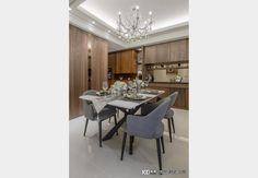 聚豐耘Ⅱ_現代風設計個案—100裝潢網 Design Case, Dining Room Design, Conference Room, Dining Table, Furniture, Home Decor, Decoration Home, Room Decor, Dinner Table