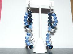 Ocean blue swirls