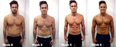 Buffing up: Spencer Matthews reveals how he went from a regular guy to Men's Health cover model in six weeks