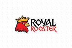 Royal Rooster - $299 (negotiable) http://www.stronglogos.com/product/royal-rooster #logo #design #sale #crown #rooster #royal #chicken #farm #eggs #farmers #market