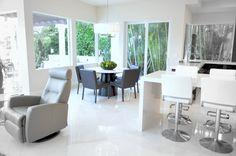 Romantic Evening, Floor Decor, Stone Tiles, Travertine, Be Perfect, Dining Table, Warm, Flooring, Furniture