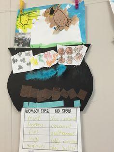 Wombat Stew, kindy Teaching Kindergarten, Preschool, Teaching Ideas, Animal Activities, Book Activities, Wombat Stew, Anzac Day, Australian Animals, Book Week