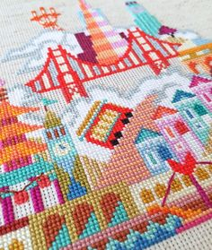 san_francisco_cross_stitch_modern_city_design_satsuma_street_mary_blair_small_world_embroidery
