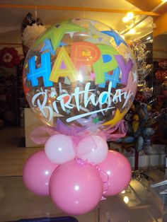 Happy birthday baloons decoration - https://www.facebook.com/balloonparty2012