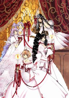 CLAMP-IN-WONDERLAND The Girls for Tsubasa and xxxHolic
