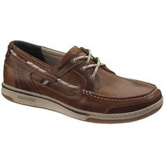 Sebago – Triton Three-Eye Deck Shoes – British Tan