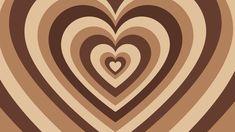 brown hearts 🤎 laptop/macbook wallpaper //aesthetic