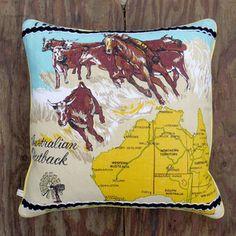Australia Cushion, 135€, now featured on Fab.