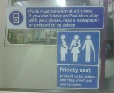 Interesting signs...