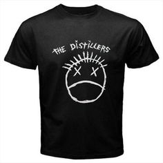 The Distillers Band Music Men Black T-Shirt Size S M L XL XXL XXXL
