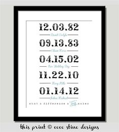 What a Difference a Day Makes Print the by CoCoStineDesigns, $18.00