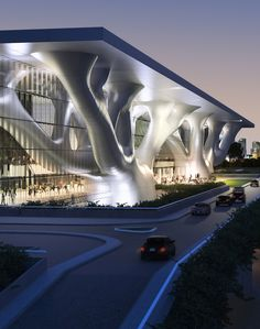arata isozaki  qatar convention center