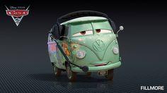 Cars 2 Characters - Characters in Disney Pixar Cars 2 - Fillmore