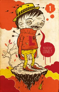 The Personal Illustrated Characters of Ahmed Sidky   Hi-Fructose Magazine