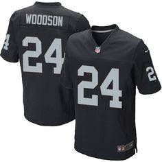 Trent Richardson Men s Elite Black Jersey  Nike NFL Oakland Raiders Home 3b5358a23