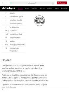 Värikäs jauheliha-kasvispata  Kasvisversio: Korvaa jauheliha papusalsatölkillä ja 1dl soijarouhetta