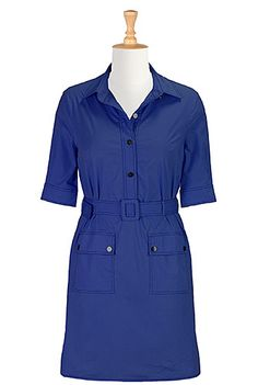 Love this one and the purple one. I have this same dress in chambray