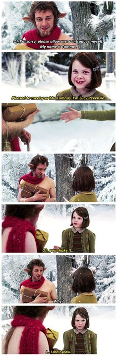 Chronicles of Narnina: The Lion the Witch and the Wardrobe.