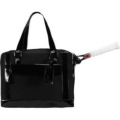 Cortiglia Marina Black Tennis Bag by Cortiglia. $465.00. The Marina is the ultimate tennis travel bag and an excellent carry-on bag, easily accommodating two racquets. The largest bag in the Cortiglia Collection. Proportioned to not only fit a woman's body but also her sense of style. Features two interior tech pockets, and one zippered inside pocket, the Marina also offers two exterior, dual zippered/magnetized pockets, and an easily accessible, zippered top ...