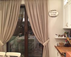 Perdele si draperii bucatarie - KaroPerdele.ro Curtains, Home Decor, Home, Blinds, Decoration Home, Room Decor, Draping, Home Interior Design, Picture Window Treatments