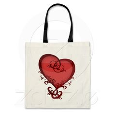 Dark Romance Tote Bags $12.95
