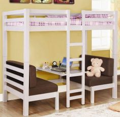 Homemade Loft Bed Ideas | Choosing a bunk bed can be fun | ITSOGS