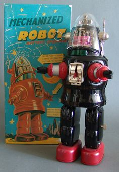 OTTI Battery Operated Robby Robot