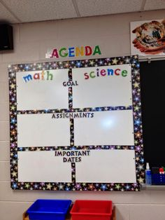 Posting Learning Targets
