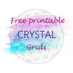 Free Printable Crystal Grids