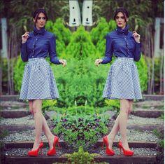 cotton skirt NoJeans #995nojeans #995fashion #skirt #fashion #style