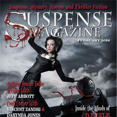 Had a great time talking about VEIL OF DECEPTION with John Raab of Suspense Magazine! I start at the 30:30 point.    http://www.blogtalkradio.com/suspensemagazine/2016/04/17/suspense-radio-one-on-one-april-17th-2016