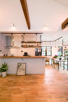 House Styles, House Design, Brooklyn Kitchen, Kitchen Flooring, House Interior, Decatur House, Kitchen Remodel, Home Kitchens, Home Decor