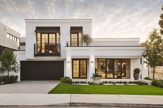 THE AMOUR - Display Home in Salter Point | Webb & Brown-Neaves Classic House Exterior, Classic House Design, House Front Design, Dream House Exterior, Modern House Design, Architecture Design, Landscape Architecture, Luxury Homes Dream Houses, Display Homes
