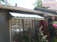 Residential Awning Over A Window