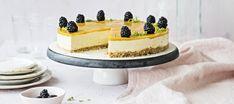 Vegan Cheesecake, Treat Yourself, Vegan Desserts, Deli, Panna Cotta, Gluten Free, Treats, Candy, Baking