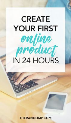 Learn to create an e-product within 24 hours instead of procrastinating on it for weeks. Building passive income stream with online products can be a very profitable way to grow your business online. Don't hesitate and learn how to create your first online product: https://www.therandomp.com/blog/create-product/
