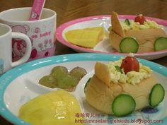 面包车子~ 孩子们的早餐