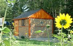 Super ideas for chickens, people or storage shed~