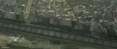 City Border Line mattepainting by Cassagi
