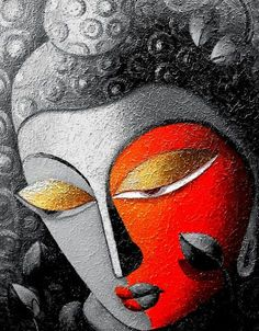 80 Easy Acrylic Canvas Painting Ideas For Beginners Updated) Easy Canvas Painting, Acrylic Canvas, Mural Painting, Mural Art, Fabric Painting, Canvas Art, Paintings On Canvas, Sculpture Painting, Buddha Kunst
